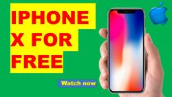 Enter For A Chance To Win A IPhone X 2019